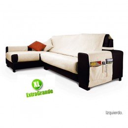 Chaise longue sofa cover Viena XL