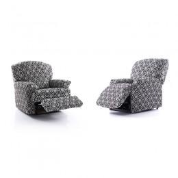 Recliner armchair cover Scandi