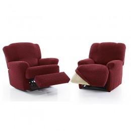 Recliner armchair cover Vector