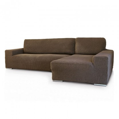 Funda Chaise Longue Super Elastica Glamour  sc 1 st  MAXICOVERS : chaise longue sofa - Sectionals, Sofas & Couches